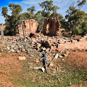 Old ruins on Horseshoe Top End