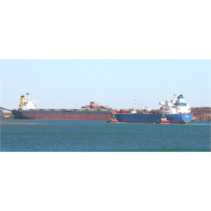 Busy Port hedland Harbour