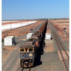 Ore Train at Port hedland