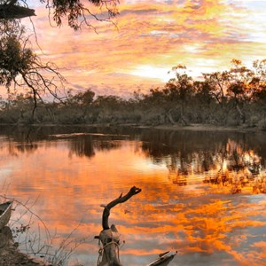 Dawn Break in Outback Australia