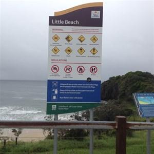 Little Beach, Scotts Head, NSW