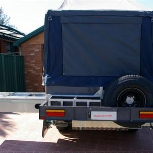 Modcon - Ecomate Traveller front folding camper trailer
