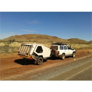 Tvan in 4x4 country