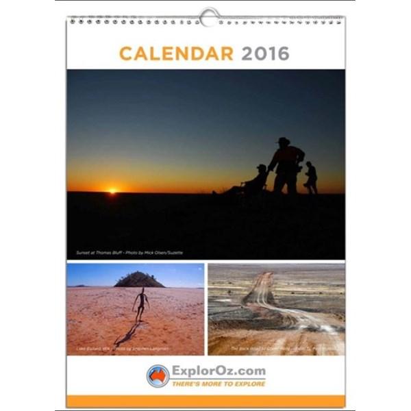 2016 Calendar Cover Image