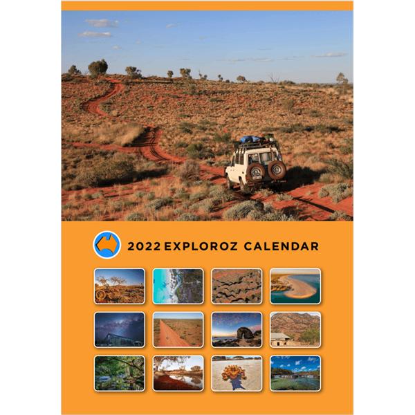 ExplorOz 2022 Calendar Cover Page