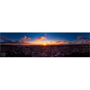 Panorama sunset Hillarys, Perth Western Australia