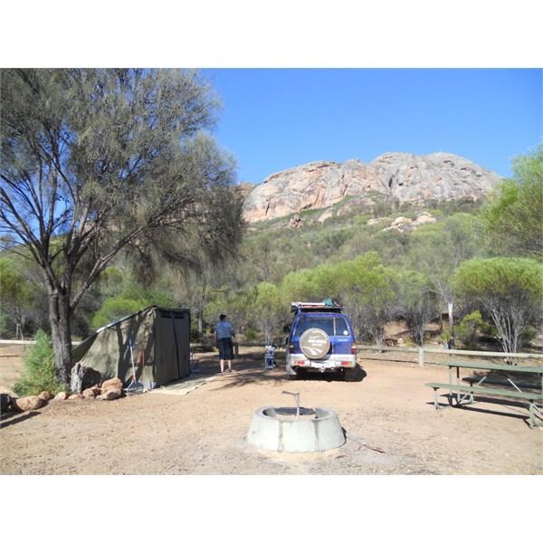 Peak Charles campground