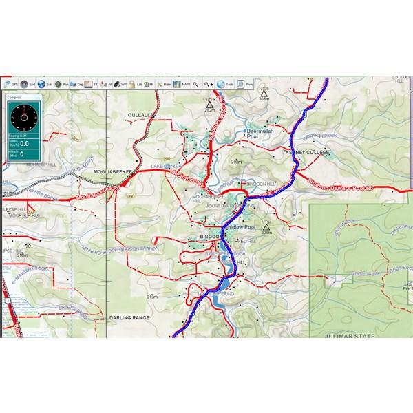 Map Planning through Western Australia
