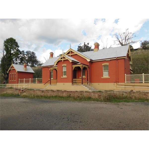 Beautifully restored station building