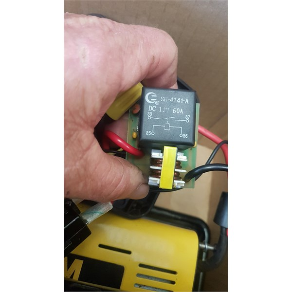 Existing relay and coil
