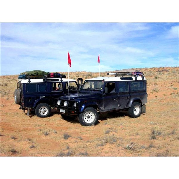 Double-Trouble - in the Simpson Desert