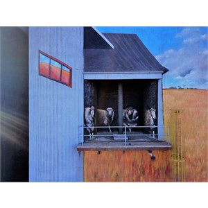 Weethalle silo art