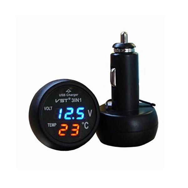 12 volt Voltage and temp