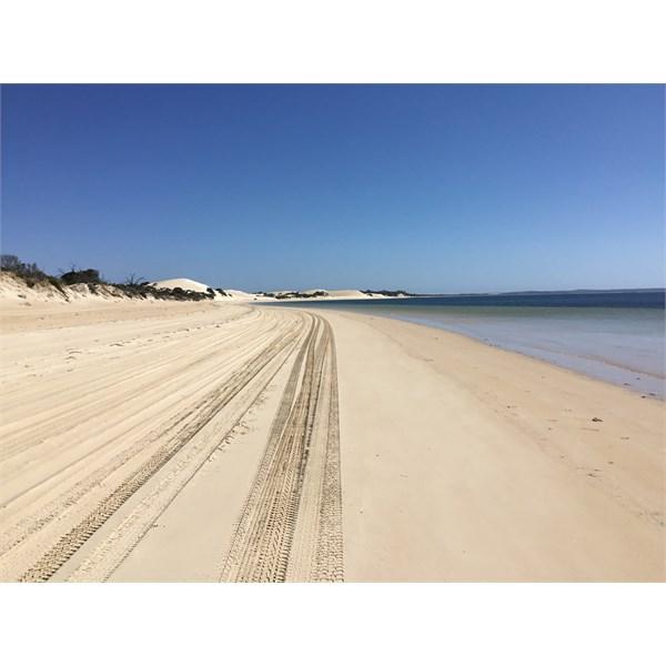 Seven Mile Beach. Coffin Bay National Park.
