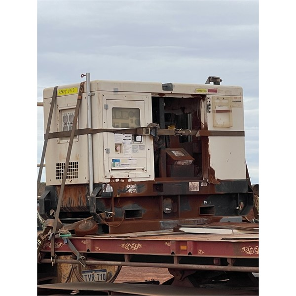 This is whats left of a generator ship from Alice Springs to the Newmont mine site last month truck wa doing 20-30 kph