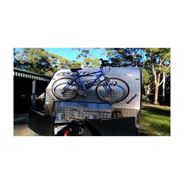 Front bike rack.