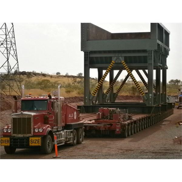 Night move ~ Great Northern Highway ~ Port to Eastern Ridge mine.