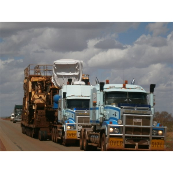 Double trouble ~ Great Northern Highway ~ Pilbara