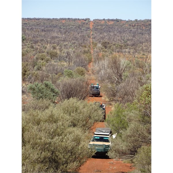 Heading north to the Hunt Oil Camp & Airstrip