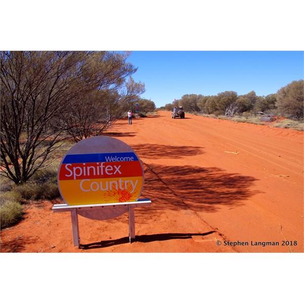 No fee to travel through the Spinifex Aboriginal Land