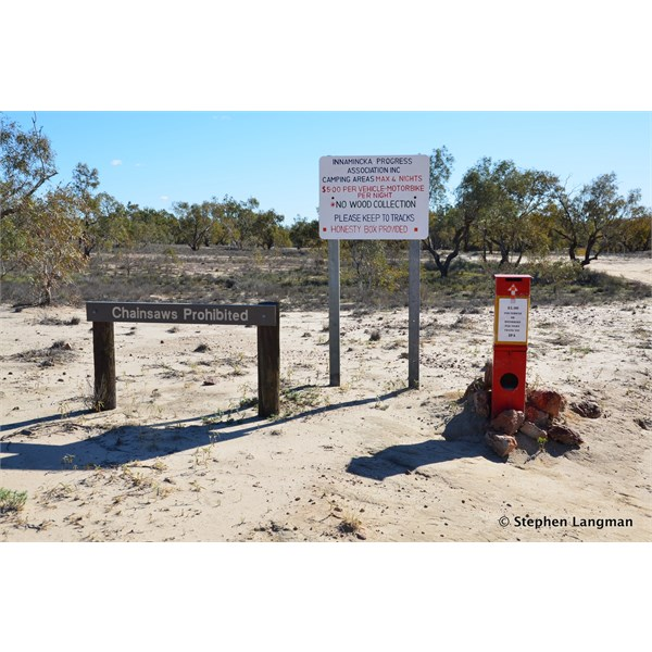 Support the local and small community at Innamincka at the Common