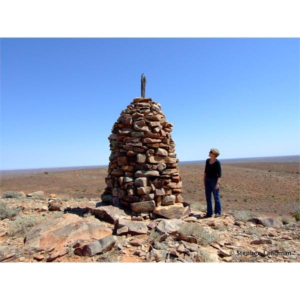 1869 Survey Cairn in the Flinders Ranges