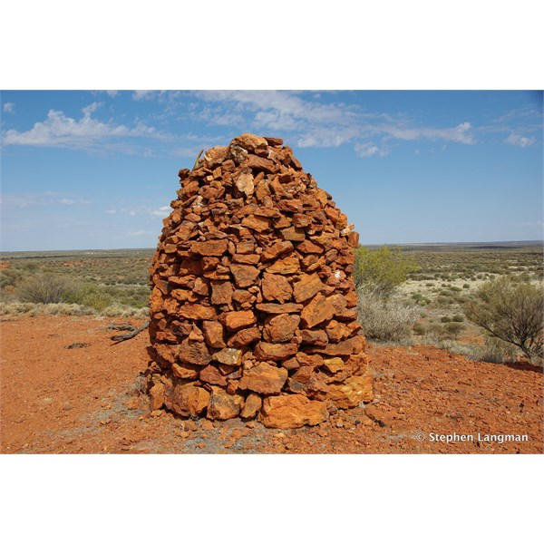 Old Survey Cairn at Mt Samual Western Australia