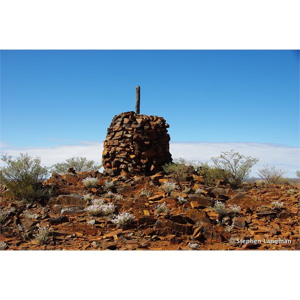 Old Survey Cairn west of Laverton WA