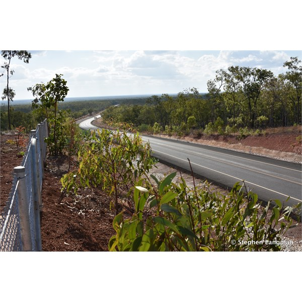New lookout along the PDR - that section of bitumen was nearly 20 km long