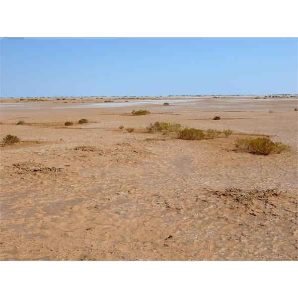 the surface at three and a half kilometres out