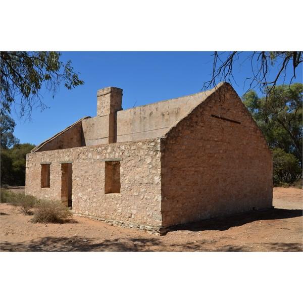 Scab Inspectors Hut ruins