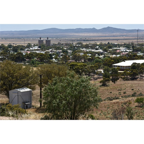 Orroroo from Tank Hill Lookout