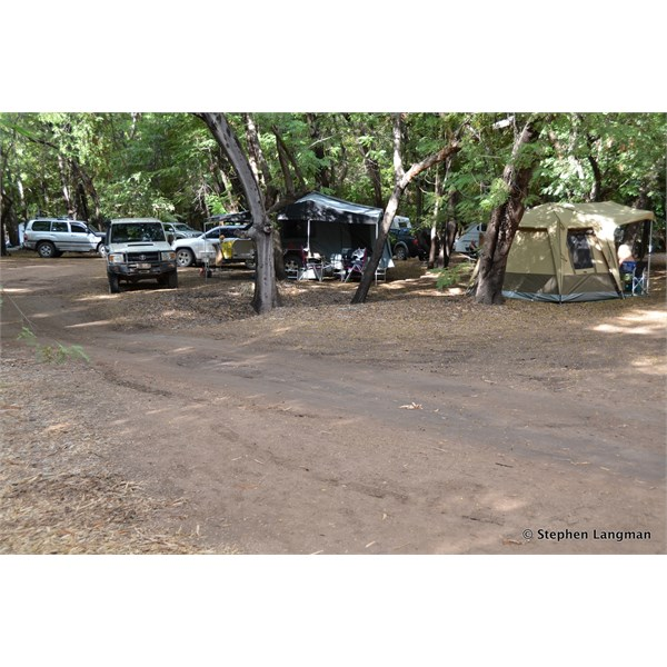 Inside the Grove Camping area
