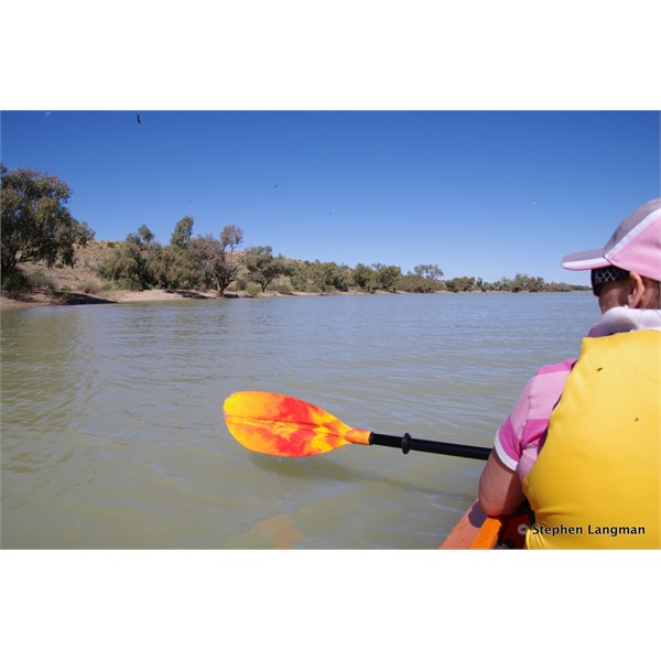 There are not too many people that can lay claim to paddling Eyre Creek in the Simpson