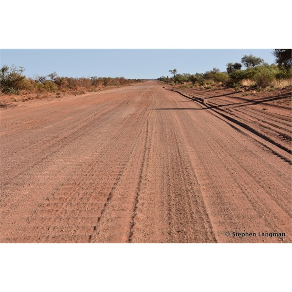 Typical Tanami conditions and extremely hard to find a great campsite