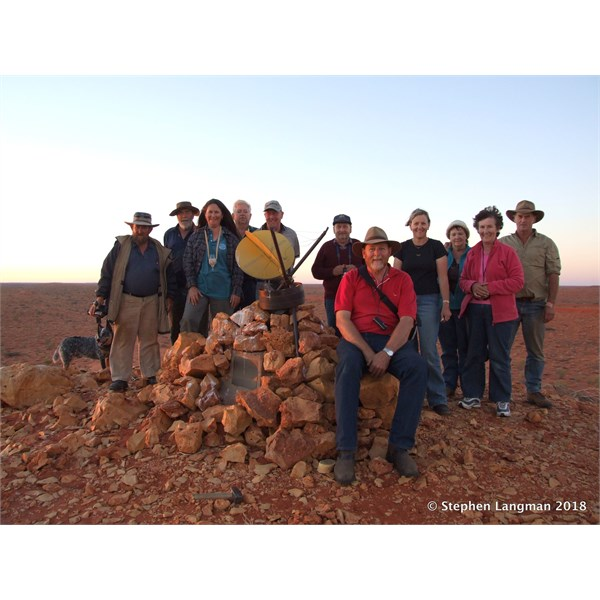 One of my True Remote Simpson Trips, and one of our friends had his Blue Heeler legally here.