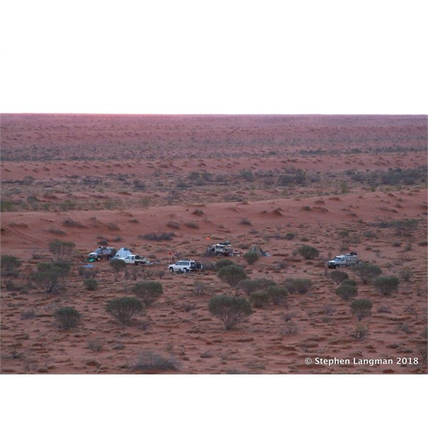 Another very remote camp - we must have been crazy