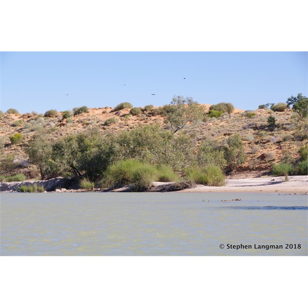Kayaking on Eyre Creek in the Simpson Desert - how many more people can lay claim to this