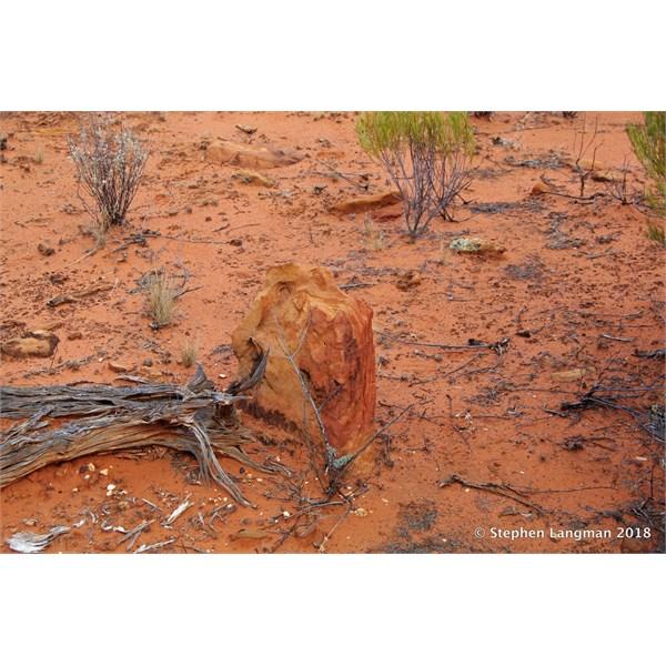 Aboriginal Direction Marker Stone
