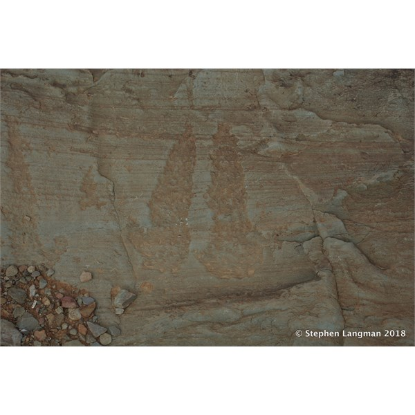Aboriginal petroglyphs - Mid North of South Australia