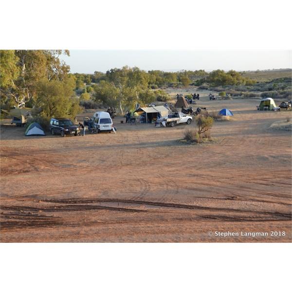 The popular Farina Campground