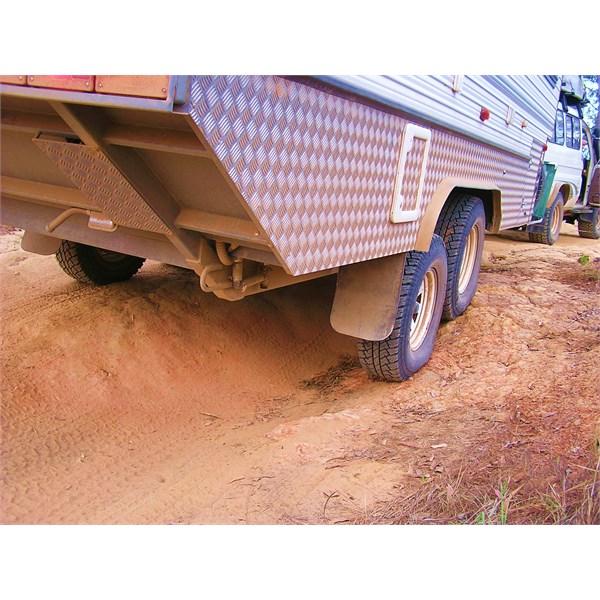 Bushtracker suspension