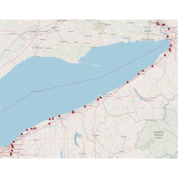 Niagara Falls to Cleveland snipping