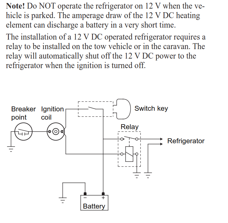 Fridge Switches   How Sensitive