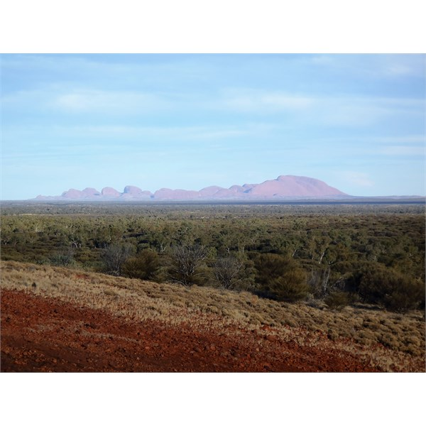 Kata Tjuta from the other side
