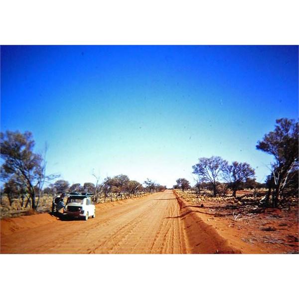 The Stuart Highway, 1967.