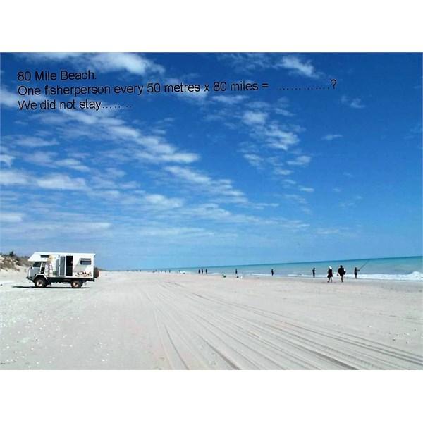 80 Mile Beach in 2005
