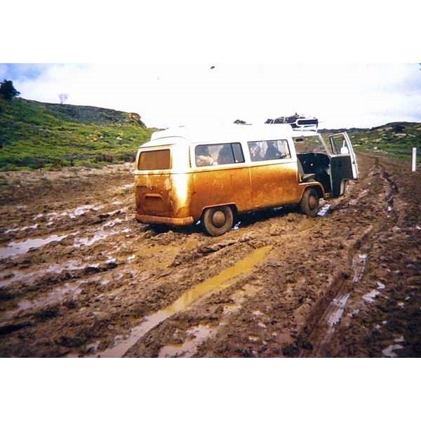 Mulga Park road 1974.