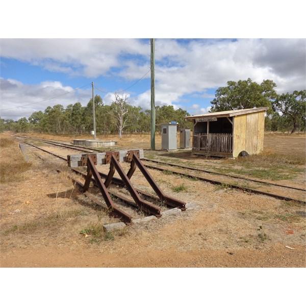 Petford Railway Station, East of Lappa. Nth Qld