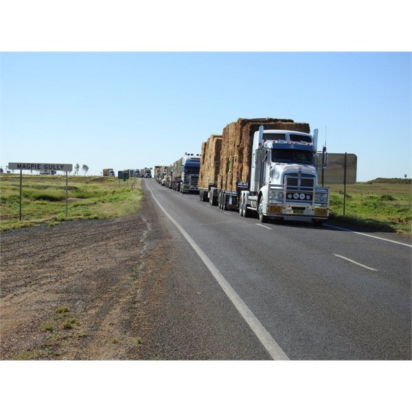 Rolling into Winton